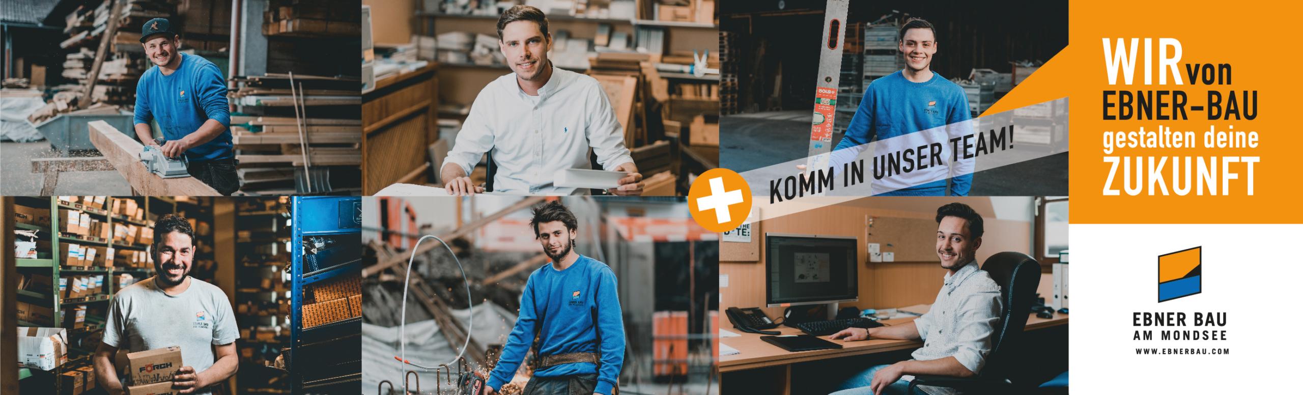 Ebner Bau Karriere Mondsee Bauunternehmen